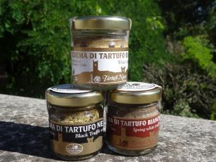 Creme di tartufo puro, Bianco, Bianchetto e Nero