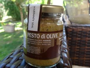Olives, Almonds and truffle pesto